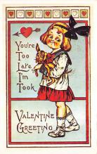 val300167 - Valentines Day Postcard
