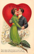 val300173 - To my Valentine Postcard