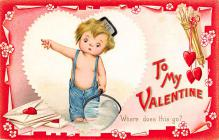 val300179 - To my Valentine Postcard