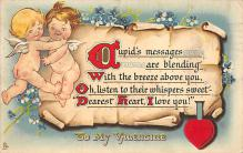 val300187 - Cupids message Valentines Day Postcard