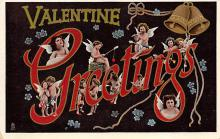 val300189 - Valentines Greetings Postcard