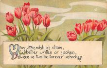 val300197 - May Friendship Chain Postcard