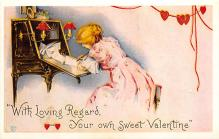 val300211 - Valentines Day Postcard