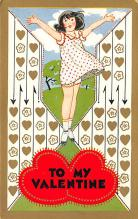 val300217 - Valentines Day Postcard