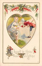 val300221 - Dear Valentines Day Postcard