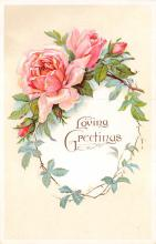 val300223 - Loving Greeting Postcard