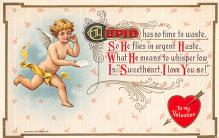 val300231 - Cupid Valentines Day Postcard