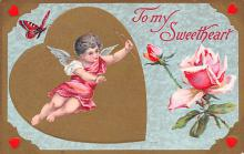 val300241 - To My Sweetheart Valentines Day Postcard