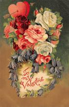 val300257 - To My Valentine Postcard