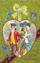 val300263 - A love Token Valentines Day Postcard
