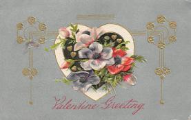val300287 - Valentine Greeting Postcard
