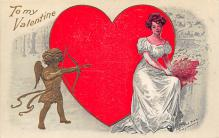 val300291 - Valentines Day Postcard
