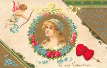 val300317 - Valentines Day Postcard