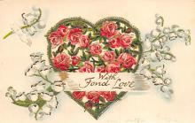 val300393 - With Fond Love Valentines Day Postcard