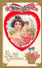 val300403 - To My Valentine Postcard