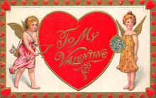 val300405 - To My Valentine Postcard