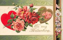 val300413 - To My Valentine Postcard