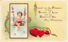 val300419 - Sweet as the Flower Valentines Day Postcard