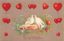 val300421 - To My Valentine Postcard
