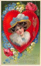 val300431 - Valentine Greetings Postcard