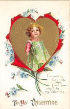 val300441 - To my Valentine Postcard