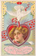 val300467 - To My Dearest Valentine Postcard