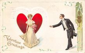 val300485 - Valentine Greeting Postcard