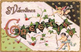 val300595 - Valentines Day Postcard