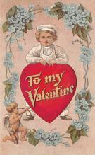 val300619 - Valentines Day Postcard