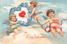 val300673 - To my Valentine Postcard