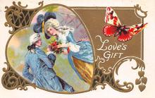 val300679 - Loves Gift Postcard