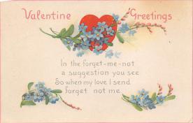val300713 - Valentines Day Postcard