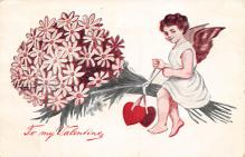 val300717 - Valentines Day Postcard