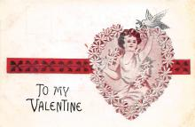 val300719 - Valentines Day Postcard