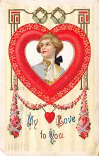 val300725 - Valentines Day Postcard