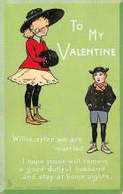 val300799 - Valentines Day Postcard