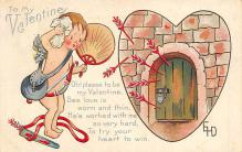 val300861 - Valentines Day Postcard