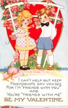 val300867 - Whitney Made Valentines Day Postcard