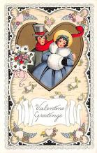 val300869 - Whitney Made Valentines Day Postcard