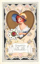 val300871 - Whitney Made Valentines Day Postcard