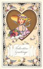 val300873 - Whitney Made Valentines Day Postcard