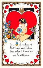 val300875 - Whitney Made Valentines Day Postcard