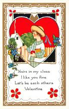 val300877 - Whitney Made Valentines Day Postcard