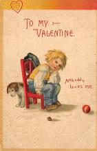 val300901 - International Art Pub. Co. Artist Ellen Clapsaddle Valentines Day Postcard