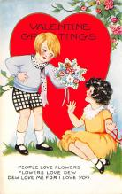 val300905 - Whitney Made St. Valentines Day Postcard