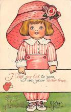 val300909 - Artist M. G. Hays St. Valentines Day Postcard