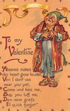 val300931 - Artist Brundage, Raphael Tuck & Sons Publishing St. Valentines Day Postcard
