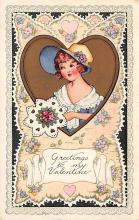 val300935 - Whitney Made St. Valentines Day Postcard