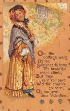 val300959 - Artist Brundage, Raphael Tuck & Sons Publishing St. Valentines Day Postcard