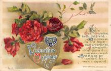val300999 - John Winsch Publishing St. Valentines Day Postcard
